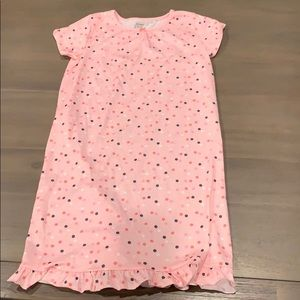 Carter's polka dot nightgown size 8/10